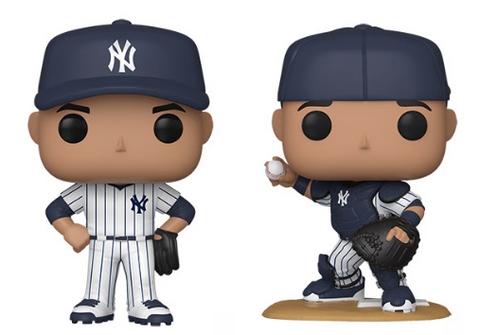 MLB Yankees Funko Pop! Complete Set of 2 (Pre-Order)