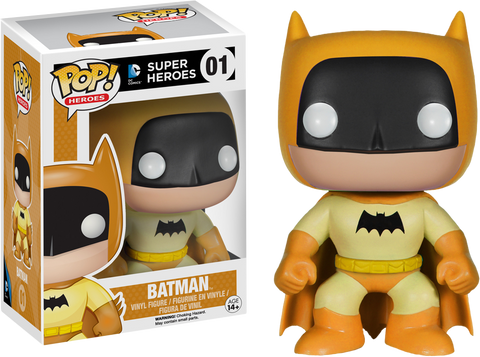 DC Super Heroes Funko Pop! Batman (Yellow) #01