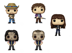 Zombieland Funko Pop! Complete Set of 5 CHASE Included (Pre-Order)