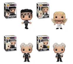 Zoolander Funko Pop! Complete Set of 4 CHASE Included