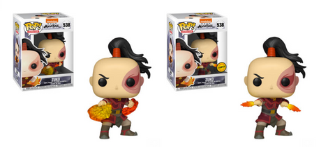 Avatar: The Last Airbender Funko Pop! Zuko CHASE & Common (Pre-Order)