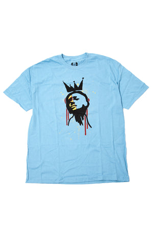 """Face"" Blue Shirt"