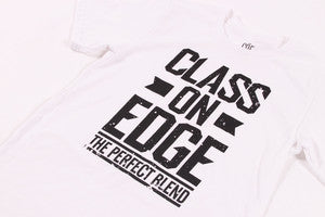 "White and Black ""The Perfect Blend"" Euro Curve T-shirt"