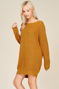 Allison Sweater Dress - Sweet Glitter Rock