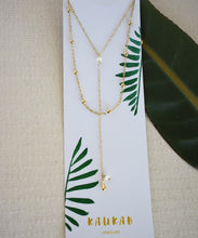 double lariat necklace