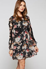 Lauren flower dress -front view - 4