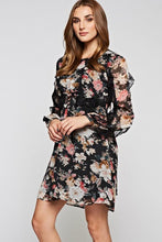 Lauren flower dress -side