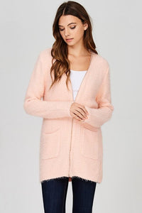 Pink Zipper Sweater