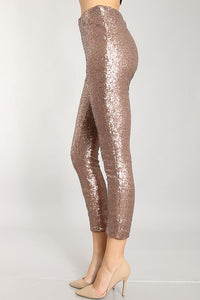 Amanda Sequin Leggings - Sweet Glitter Rock