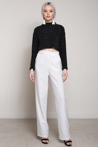 Camila High Waisted Trousers - Sweet Glitter Rock
