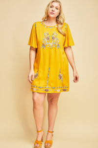 Kiera Shift Dress - Sweet Glitter Rock