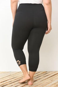 Rica Curvy Leggings - Sweet Glitter Rock