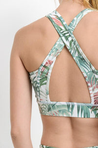 Tropical Sports Bra