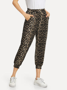 Mercedes Leopard Pants - Sweet Glitter Rock