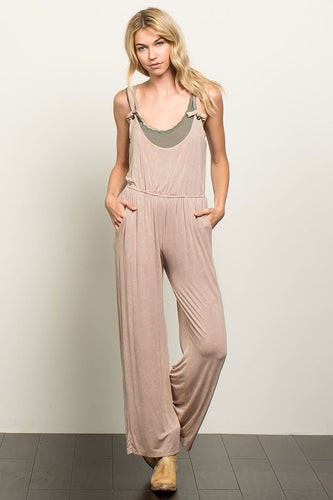 contemporary overalls beige