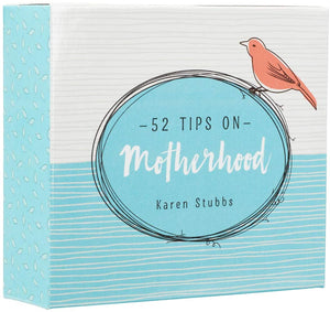52 Tips on Motherhood, Cards with Acrylic Stand