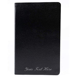 Personalized The Amplified Holy Bible Bonded Leather Black