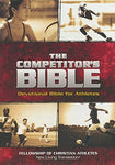 Personalized NLT The Competitor's Devotional Bible Brown