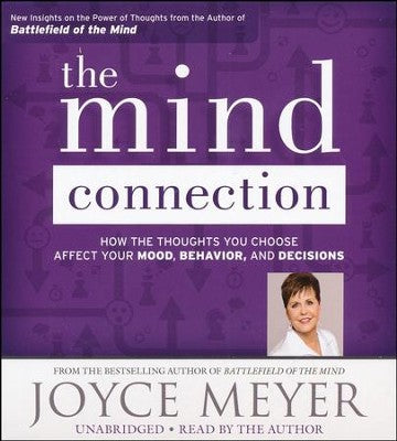 The Mind Connection Joyce Meyer Audiobook CD