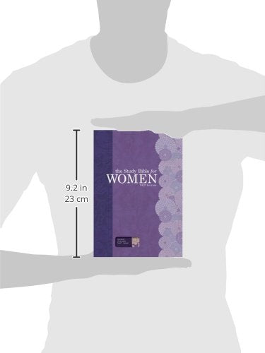 Personalized NKJV The Study Bible for Women LeatherTouch Indexed Plum & Lilac