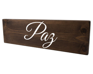 Paz Spanish Wood Decor