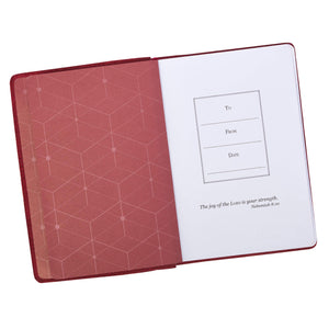 Commit to the Lord Handy-sized Full Grain Leather Journal - Proverbs 16:3