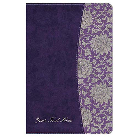 Personalized NKJV The Study Bible for Women LeatherTouch Plum & Lilac