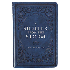 A Shelter From the Storm, Devotional [Leather Bound] Solly Ozrovech