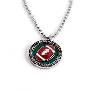 "Football Sports 24"" Ball Chain - Necklace"