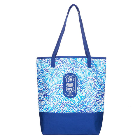 Tote Bab Blue Love [Shoes]
