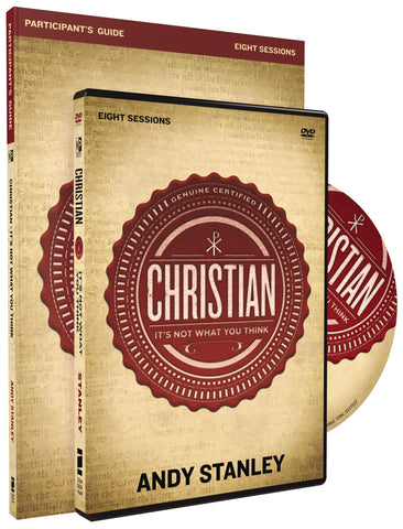 Christian Participant's Guide with DVD: It's Not What You Think [Paperback] Stanley, Andy