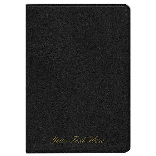 Personalized ESV Study Bible Large Print (Black, Indexed)