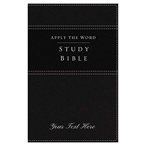 Personalized NKJV Apply The Word Study Bible