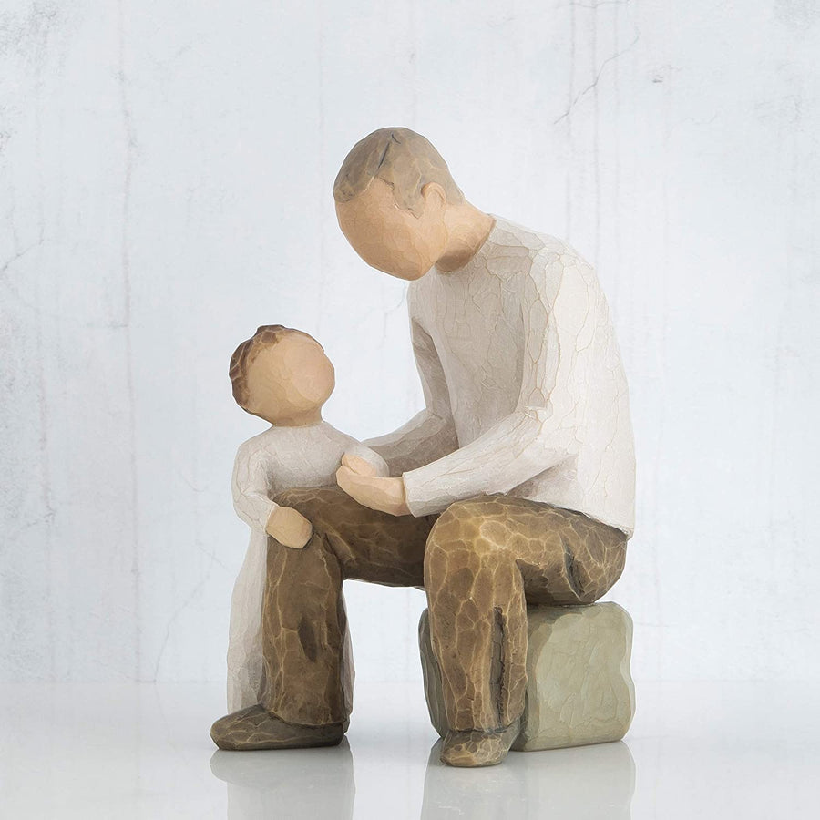 Willow Tree Grandfather, Sculpted Hand-Painted Figure