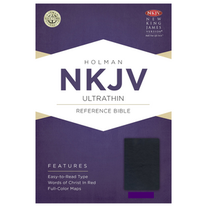 Personalized NKJV Ultrathin Reference LeatherTouch