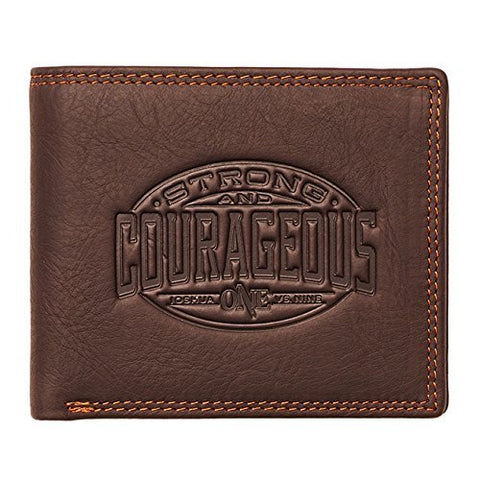 Wallet-Genuine Leather-Strong & Courageous-BiFold