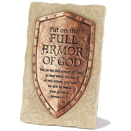 Full Armor of God Tabletop Plaque