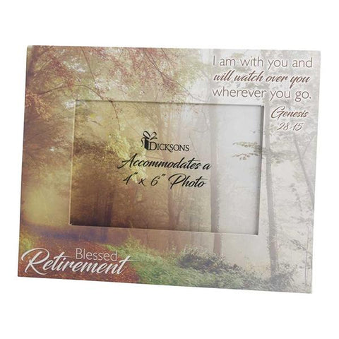 Blessed Retirement Photo Frame 4x6