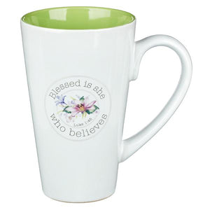 Blessed Is She Mug