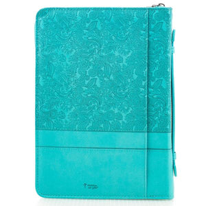 Everlasting Love Bible Cover, Size L