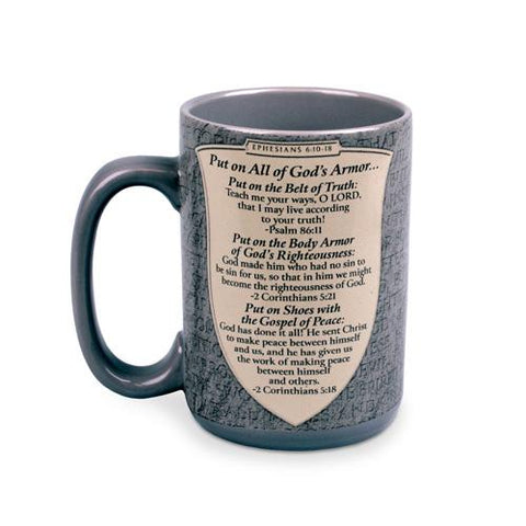 Full Armor Of God 20 oz Coffee Mug