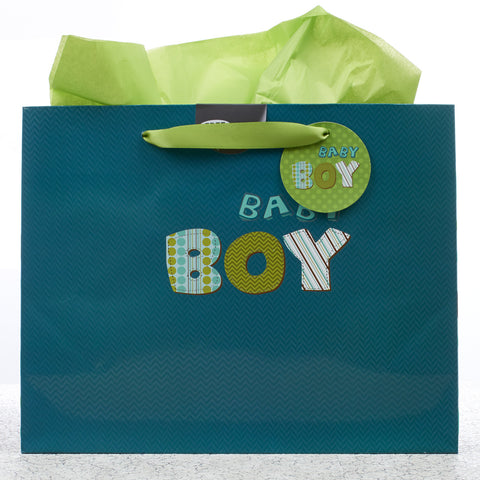 Large Gift Bag: Baby Boy