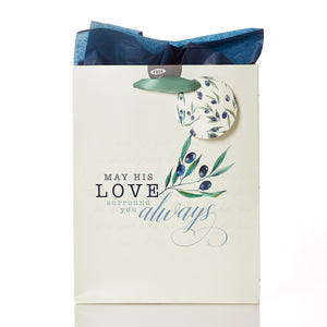 May His Love Surround You Always - Psalm 23:6 Medium Gift Bag