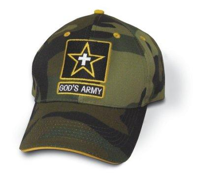 God's Army - Cap Woodland Camo