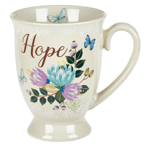 Hope 147:11 Mug & Coaster Set, Tin Box
