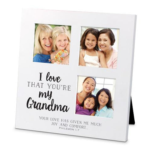 I Love That You're My Grandma Frame