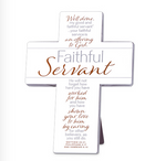 Faithful Servant ll Cream Cross