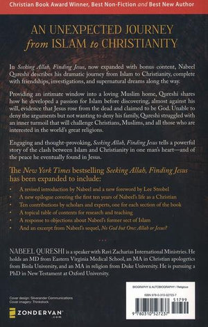 Seeking Allah, Finding JESUS: A Devout Muslim Encounters Christianity - Nabeel Qureshi