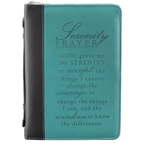 Serenity Prayer TwoTone  Bible Cover