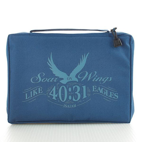 Soar On Wings Bible Cover, Size LG